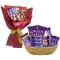 send chocolate bouquet to cebu, chocolate basket to cebu