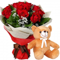 anniversary-flower-with-bear