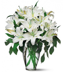 4 stem white perfume lilies to cebu philippines