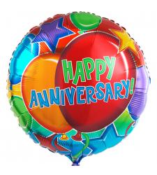 1pc. anniversary mylar balloon to cebu