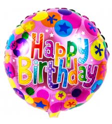 send single happy birthday mylar balloon to cebu