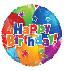 send 1pc. birthday mylar gift balloon to cebu