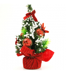 send 20cm red mini christmas tree to cebu