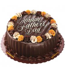 send fathers day choco caramel cake by goldilocks to cebu