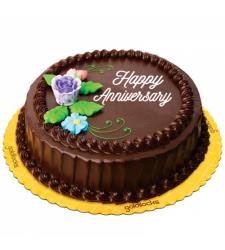 Chocolate Anniversary Cake By Goldilocks