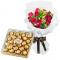 send 12 red roses with ferrero rocher to cebu