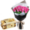 send 24 pink roses with ferrero chocolate box to cebu